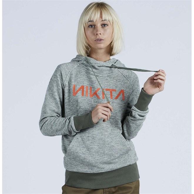 mikina NIKITA - Reykjavik Solid Po Hoody Fatigue (FAT)