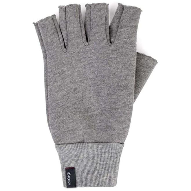 rukavice BRIXTON - Robbie Fingerless Gloves Heather Grey (HTGRY)