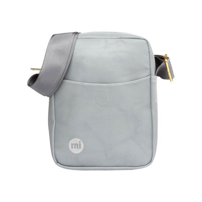 taška přes rameno MI-PAC - Flight Bag Reflective Silver (002)