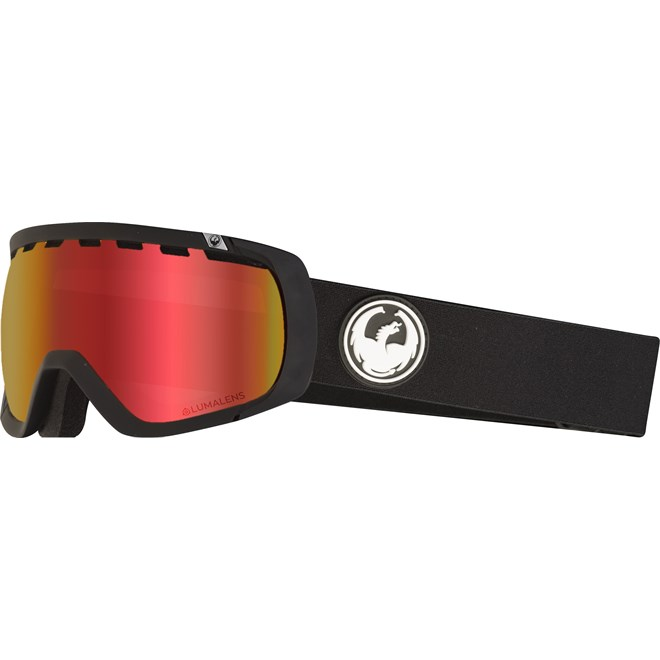 SNB-Brille Hülsen DRAGON - Dr Rogue 1 Black Llredion+Llrose (332)