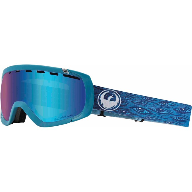 gogle snowboardowe DRAGON - Dr Rogue 1 Midnight Llblueion+Llamber (600)
