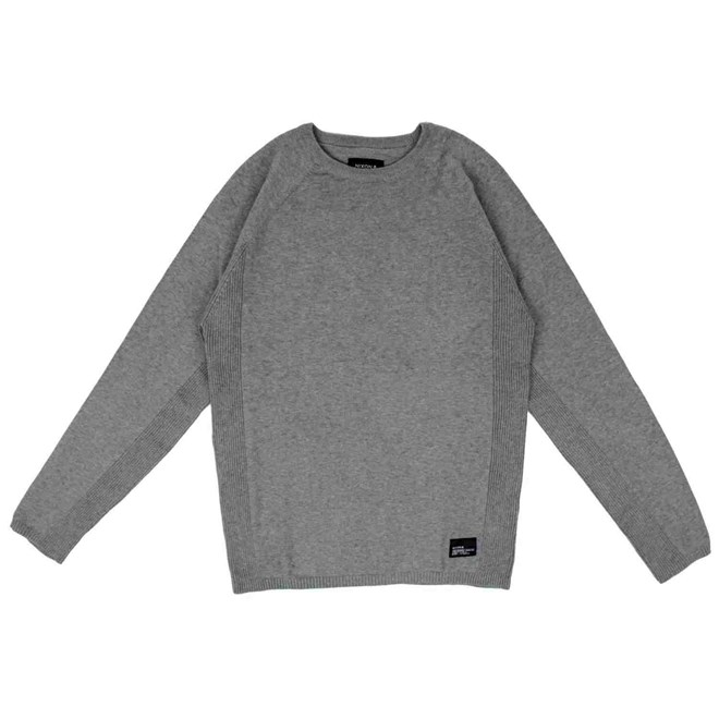 mikina NIXON - Park Heather Gray (070)