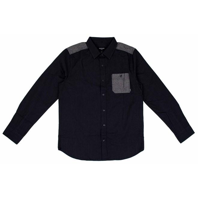 košile NIXON - Douglas Black (000)