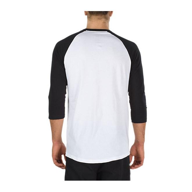 triko VANS - Full Patch Raglan White Black (YB2) · Obrázek 2 Obrázek 2 7666cfe9d2