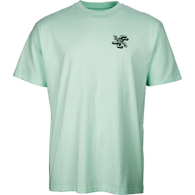 Tshirt SANTA CRUZ - JJ Lupe Tee Pool Blue (POOL BLUE)