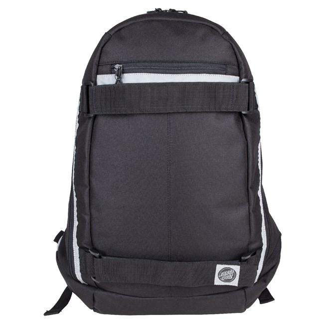 batoh SANTA CRUZ - Plaza Backpack Black (BLACK)