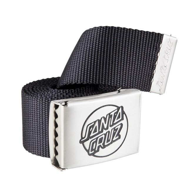 pásek SANTA CRUZ - Opus Belt Black (BLACK)