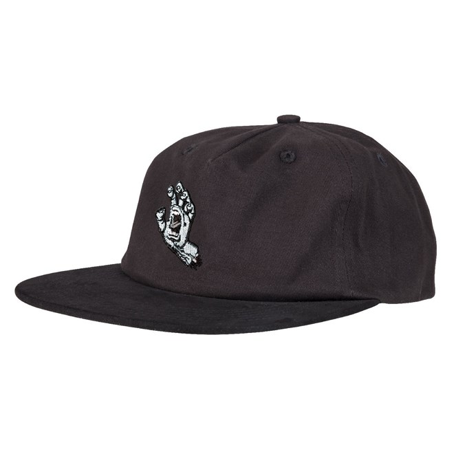 kšiltovka SANTA CRUZ - Screaming Mono Hand Cap  Black (BLACK)
