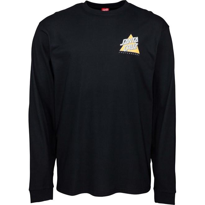 koszulka SANTA CRUZ - Not A Dot L/S T-Shirt Black (BLACK)
