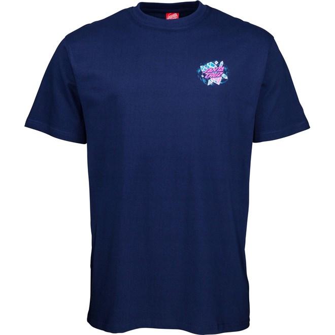 triko SANTA CRUZ - Crystal Hand T-Shirt Dark Navy (DARK NAVY)
