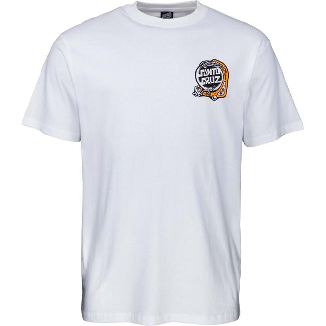 triko SANTA CRUZ - Multimedia Witchcraft T-Shirt White (WHITE)