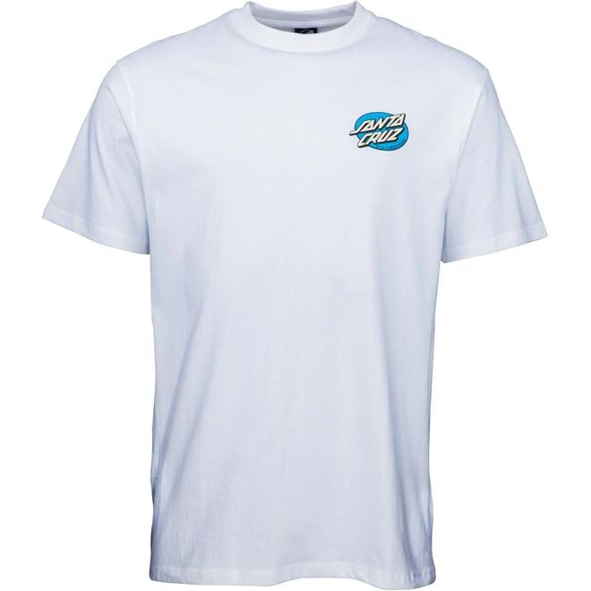 triko SANTA CRUZ - Remillard Lit AF T-Shirt White (WHITE)