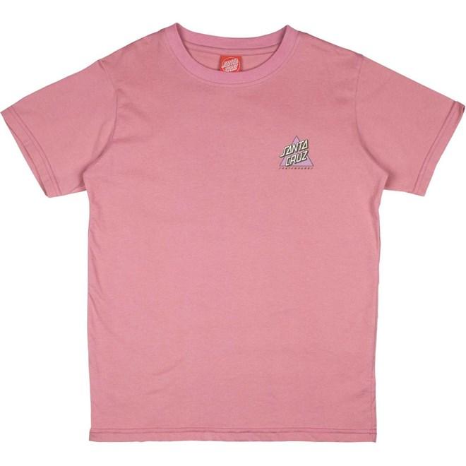 triko SANTA CRUZ - Youth Not A Dot T-Shirt Rose Pink (ROSE PINK)