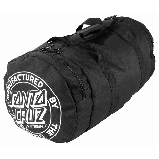taška přes rameno SANTA CRUZ - Strip Stack Duffle Black (BLACK)