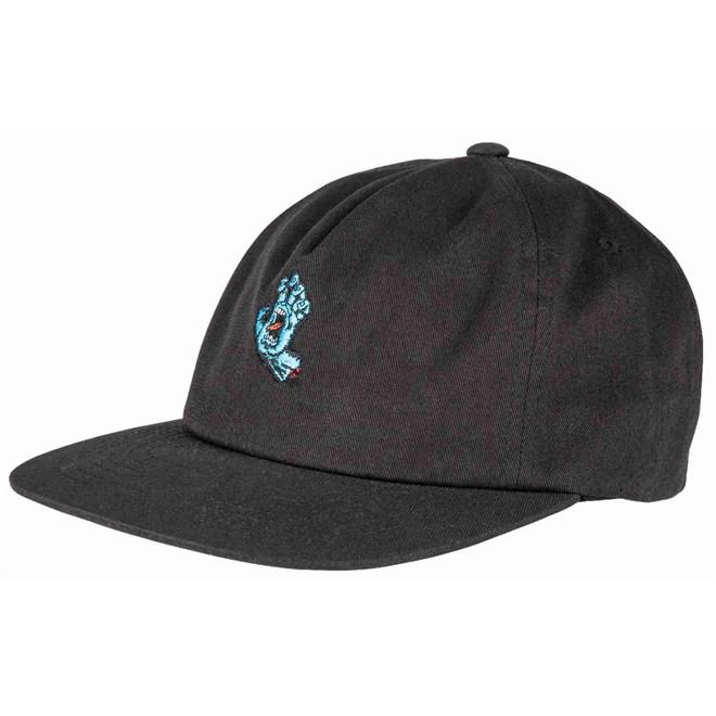kšiltovka SANTA CRUZ - Screaming Mini Hand Cap Black (BLACK)