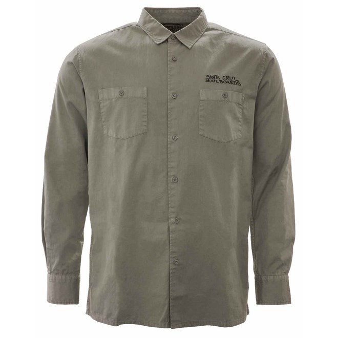 košile SANTA CRUZ - Jessee V8 Shirt Grey (GREY)