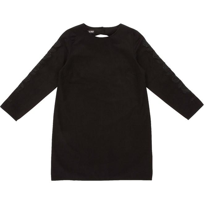 šaty SANTA CRUZ - Tonal Rosa Dress Black (BLACK)