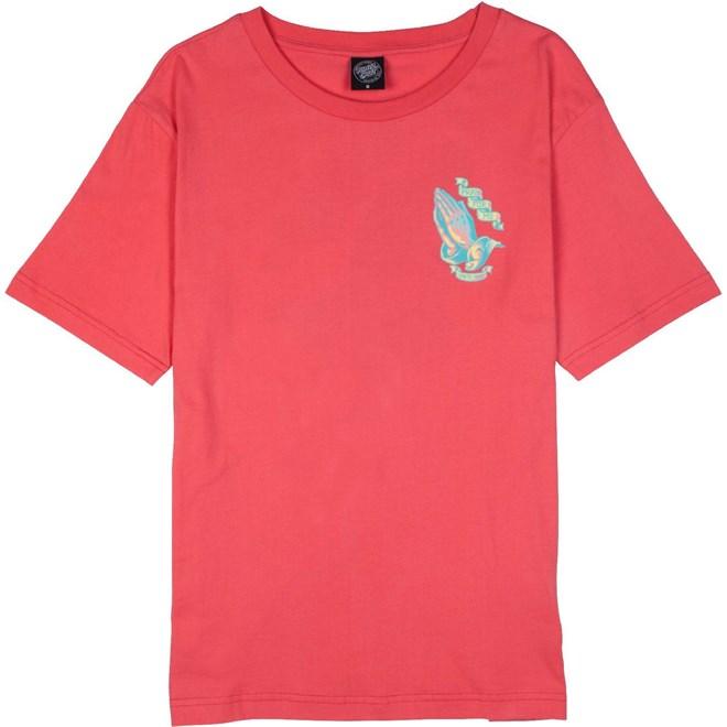 Tshirt SANTA CRUZ - PFM Tee Rose (ROSE)