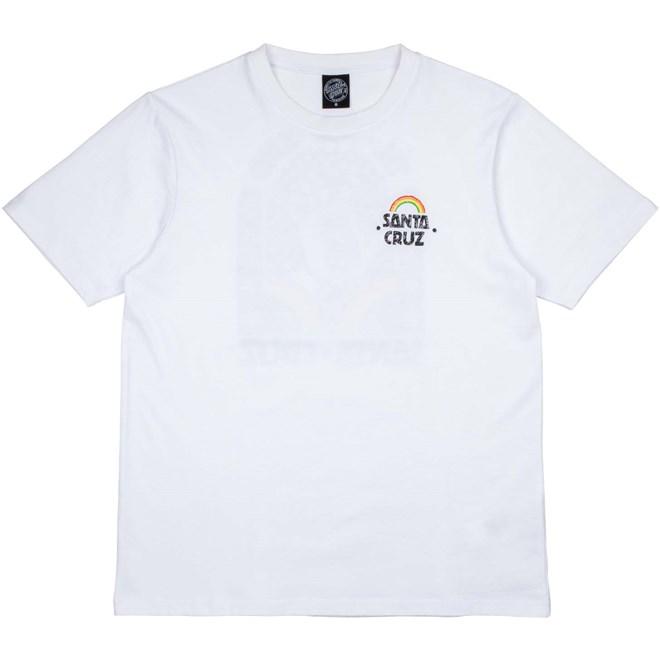 triko SANTA CRUZ - Hand Mural T-Shirt White (WHITE)