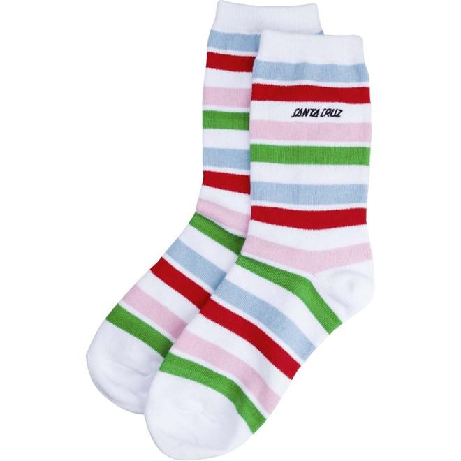 ponožky SANTA CRUZ - Strip Sock Stripe (STRIPE)