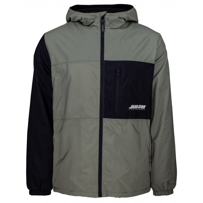 bunda SANTA CRUZ - SCS Divide Jacket Sage/Black (SAGE-BLACK)