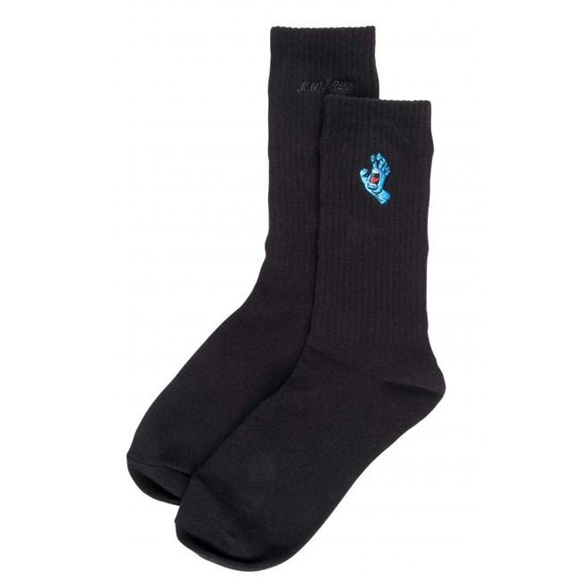 ponožky SANTA CRUZ - Screaming Mini Hand Sock Black (BLACK)