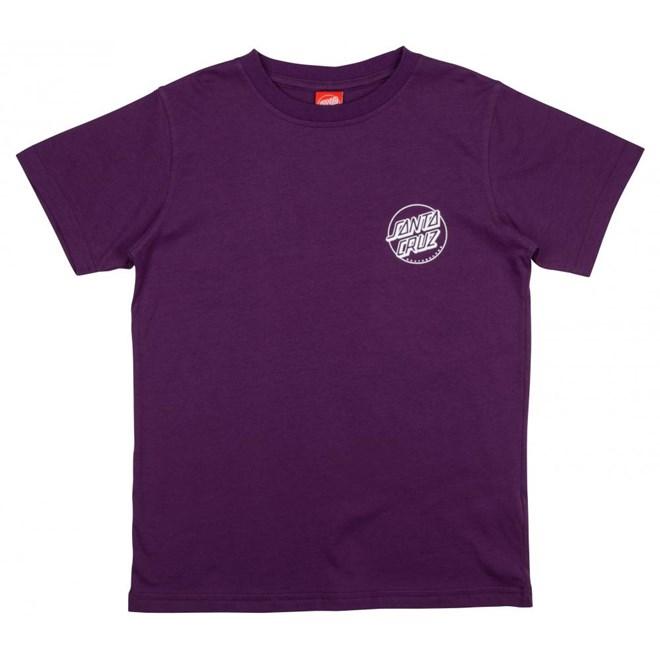 triko SANTA CRUZ - Youth Robface 2 Tee Purple (PURPLE)