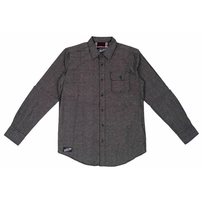 košile SANTA CRUZ - Lowered Shirt L/S Black Chambray (BLACK CHAMBRAY)
