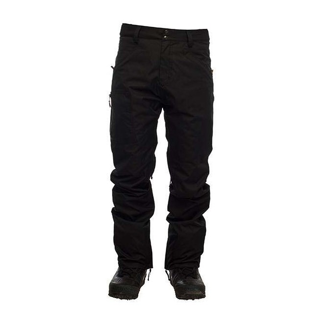 kalhoty SESSIONS - AgentPant Black (BLK)
