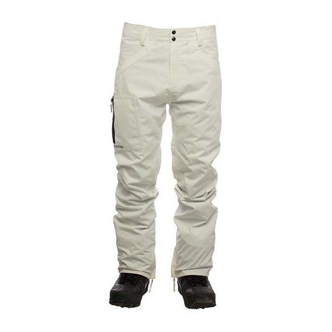 kalhoty SESSIONS - AgentPant White (WHT)