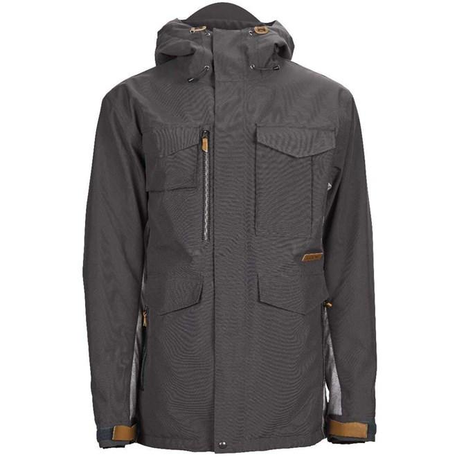 bunda SESSIONS - Ransack Insulated Jacket Dark Grey-Concrete (DKG)