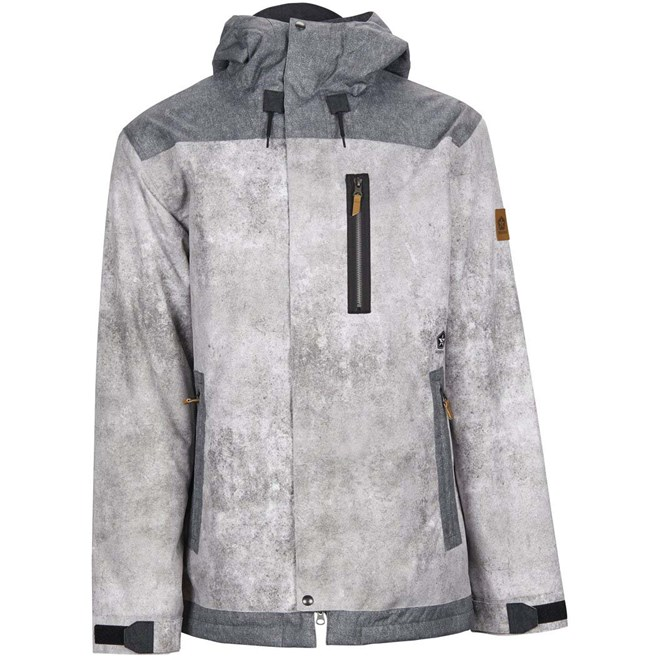 bunda SESSIONS - Scout Jacket Concrete-Acid Wash (CON)
