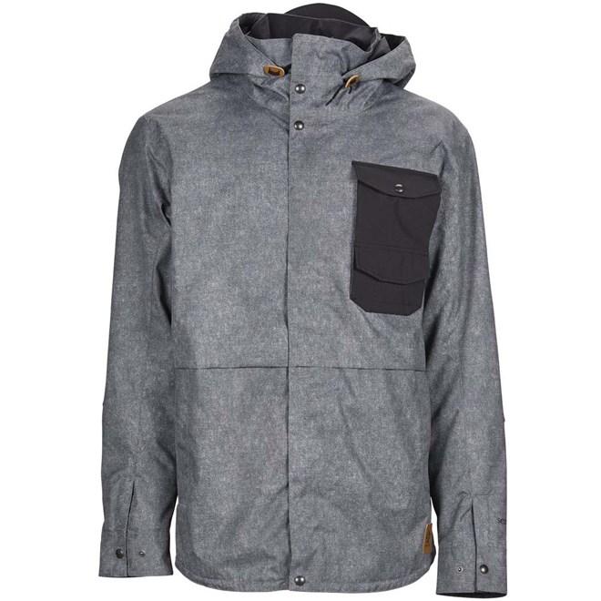 bunda SESSIONS - Wire Jacket Acid Wash-Black (AWS)
