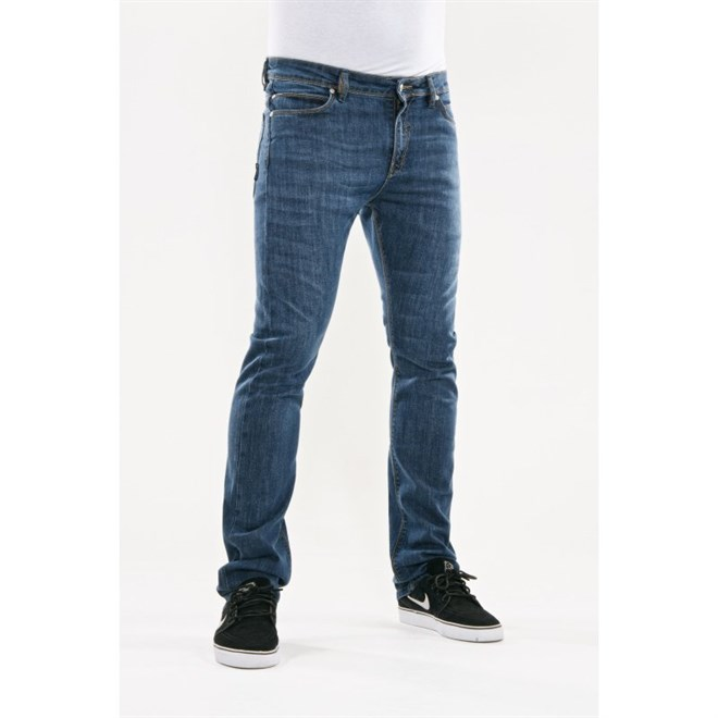 kalhoty REELL - Skin Mid Blue Mid Blue 2 (MID BLUE 2)