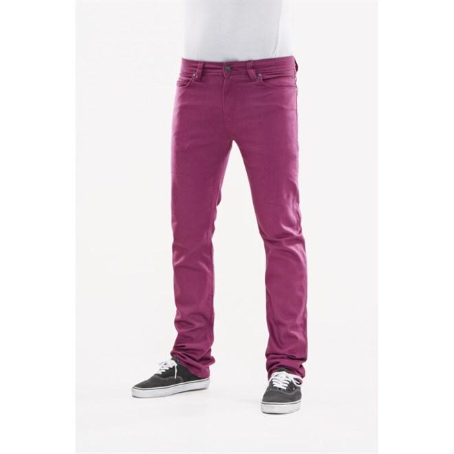 kalhoty REELL - Skin Plum Purple (PLUM PURPL)