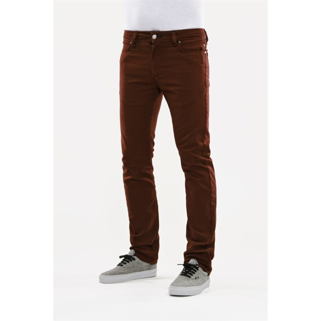 kalhoty REELL - Skin Wine Red (WINE RED)