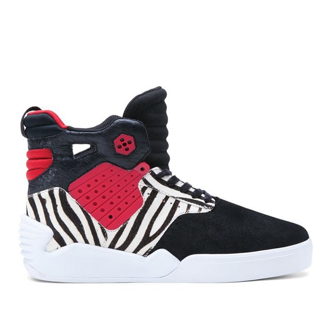 boty SUPRA - Skytop Iv High Black/Red (BKR)