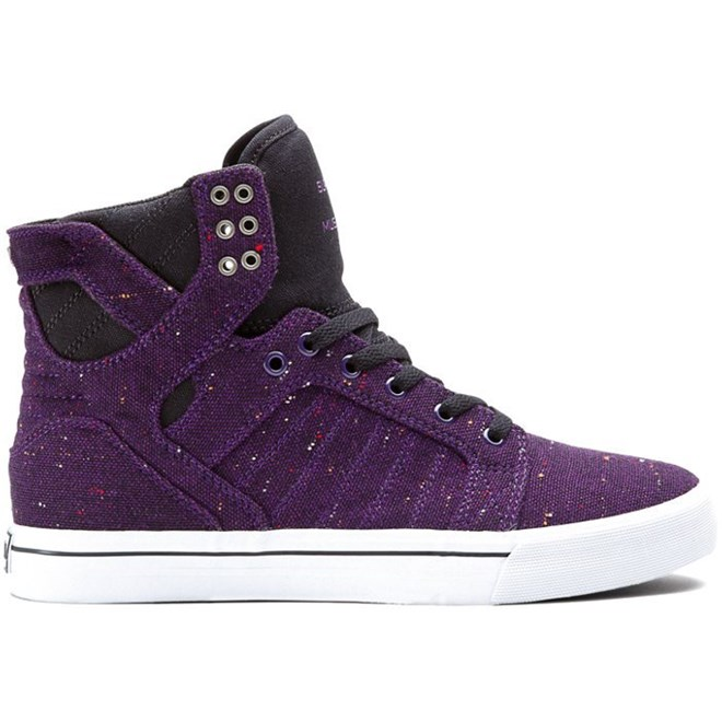 boty SUPRA - Skytop Purple/Black (PRB)