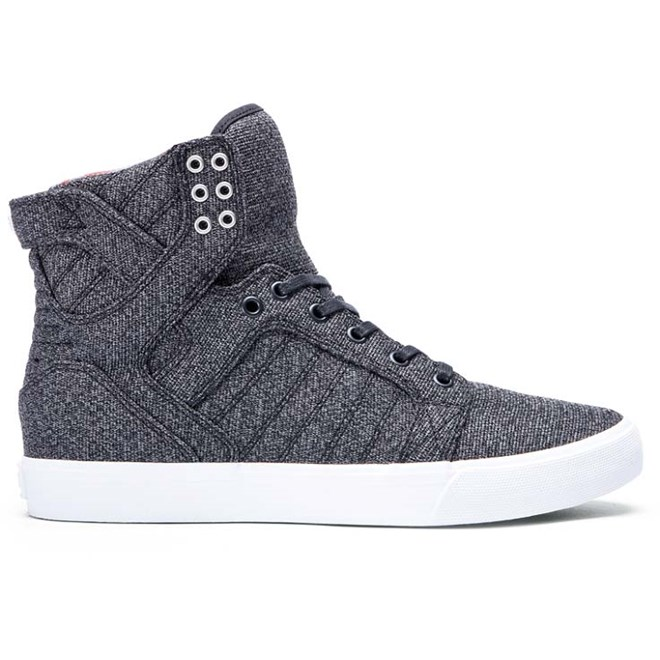 boty SUPRA - Skytop Microchip Heather-White (MCH)