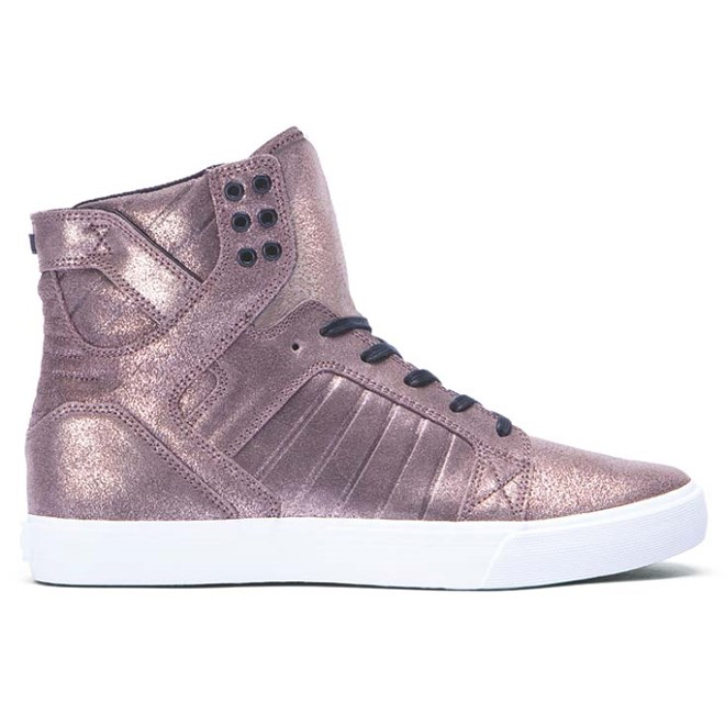 boty SUPRA - Skytop Rose Gold Metalic-White (RGD)