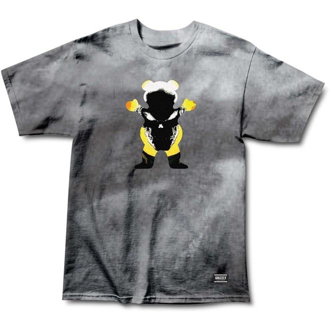 triko GRIZZLY - Grizzly X Ghost Rider Tie Dye (TIE DYE)