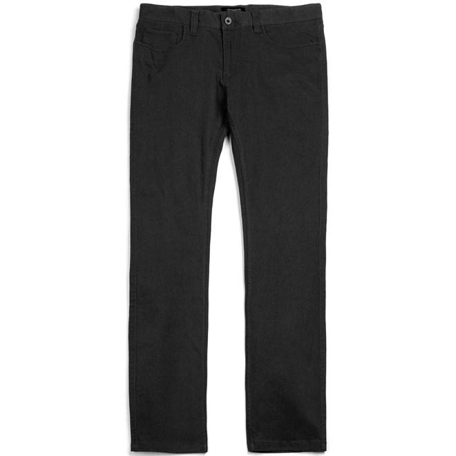 kalhoty BRIXTON - Reserve 5-Pckt Black (0100)