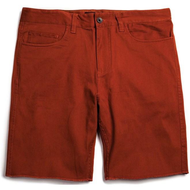kraťasy BRIXTON - Parker Burnt Orange (0913)
