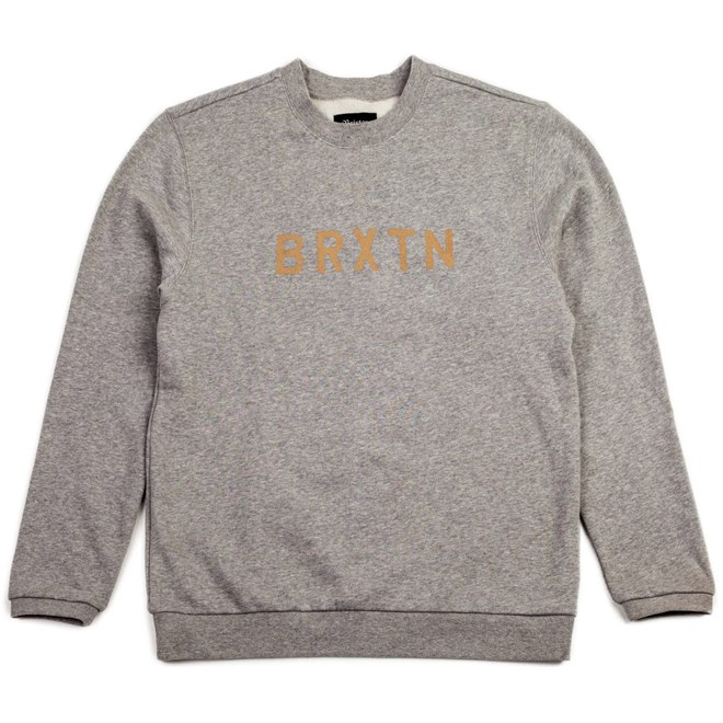 mikina BRIXTON - Murray Heather Grey (0304)