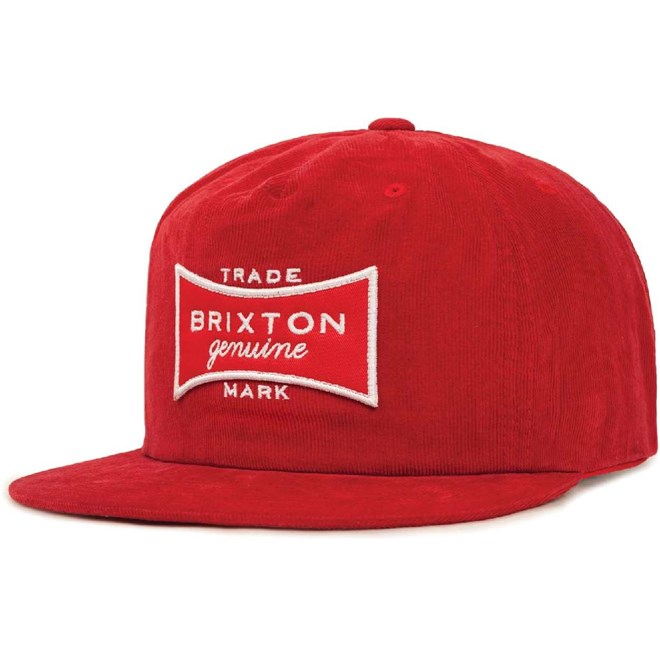 kšiltovka BRIXTON - Ramsey Hp Red (0700)