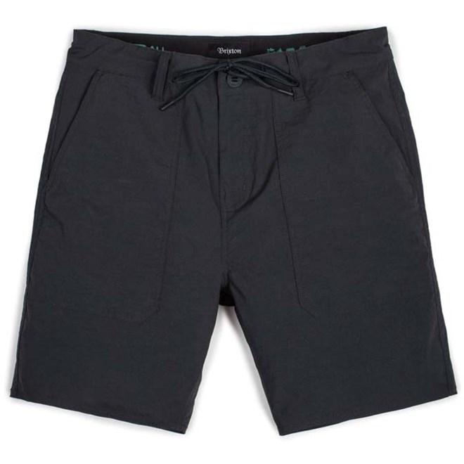kraťasy BRIXTON - Prospect Service Black (BLACK)