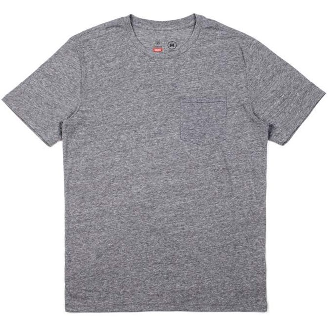 triko BRIXTON - Basic Heather Grey (HTGRY)
