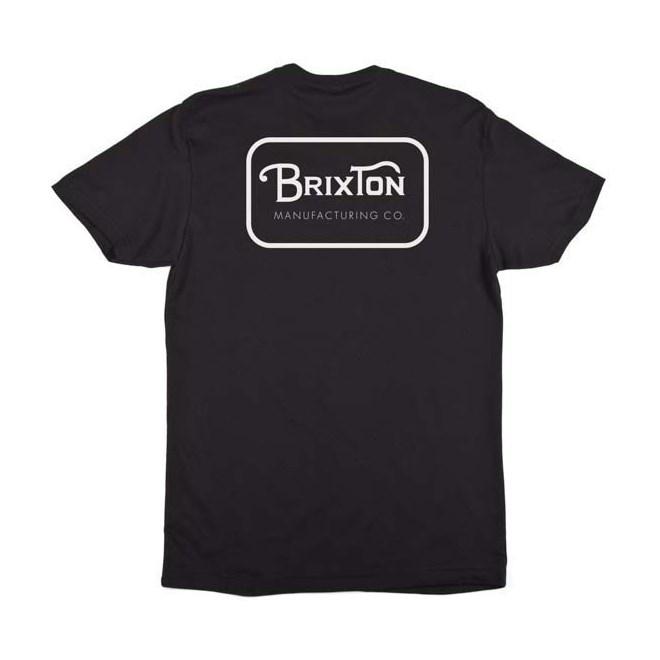 triko BRIXTON - Grade Black/White (BKWHT)