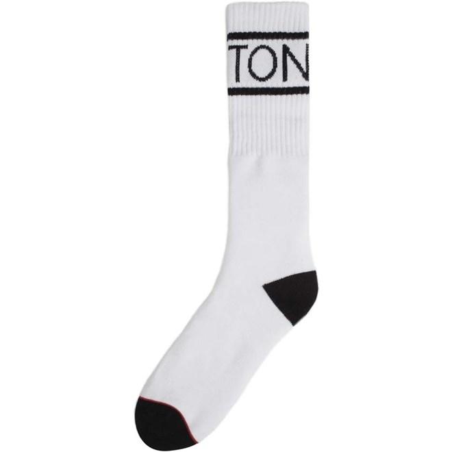 ponožky BRIXTON - Tanner Sock White/Black (WHBLK)
