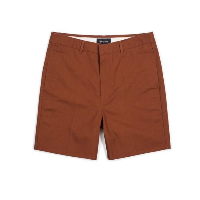 kraťasy BRIXTON - Graduate Slack Short Rust (RUST)